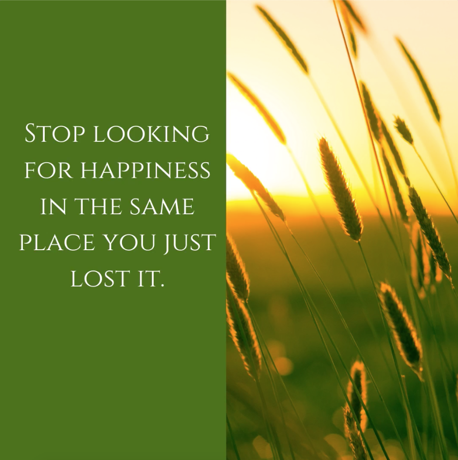 weight loss quotes stop looking for happiness