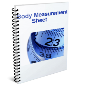 body measurement sheet easy ways to lose weight