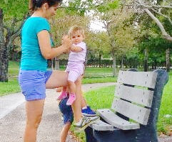 calf exercises for moms