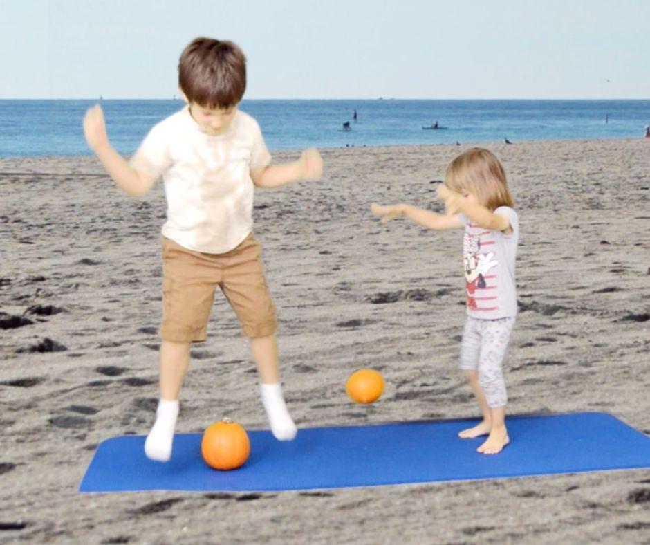 pumpking workout children
