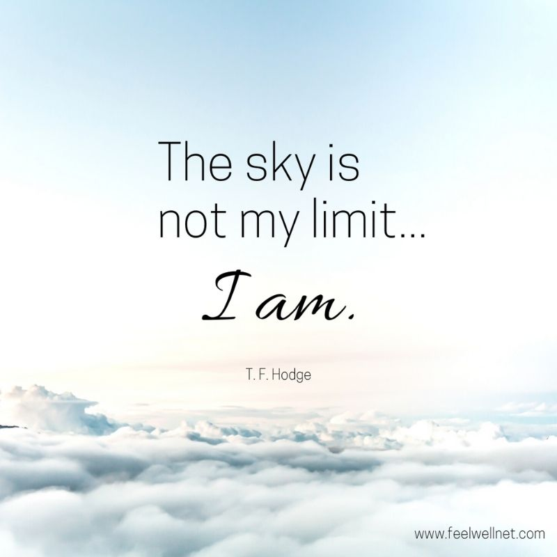 sky is not my limit