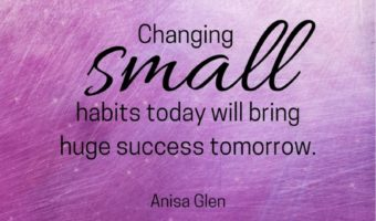 weight loss quotes small habits